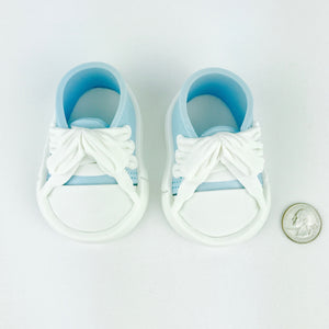 Blue Baby Boy Sneakers Shoes size comparison