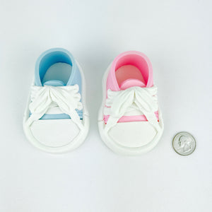 Gender Reveal Sneakers Shoes size comparison