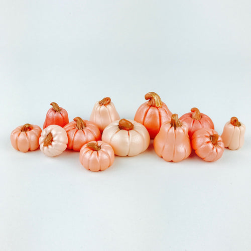 Orange Ombre pumpkins toppers