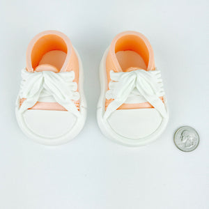 Orange Baby Sneakers Shoes size comparison