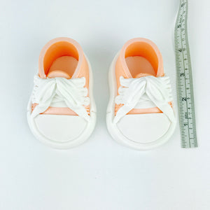 Orange Baby Sneakers Shoes sizes