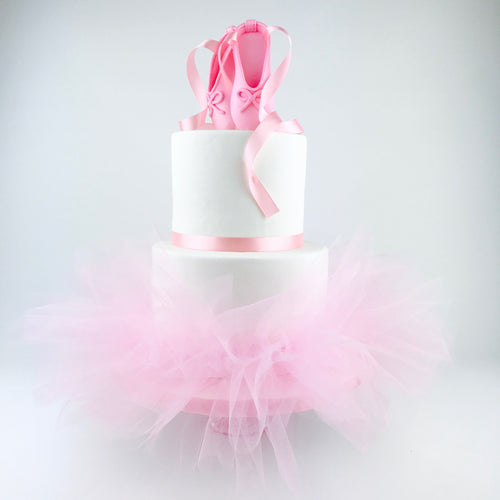 Pink Ballerina Cake Tutu - Ships within 3 Business Days