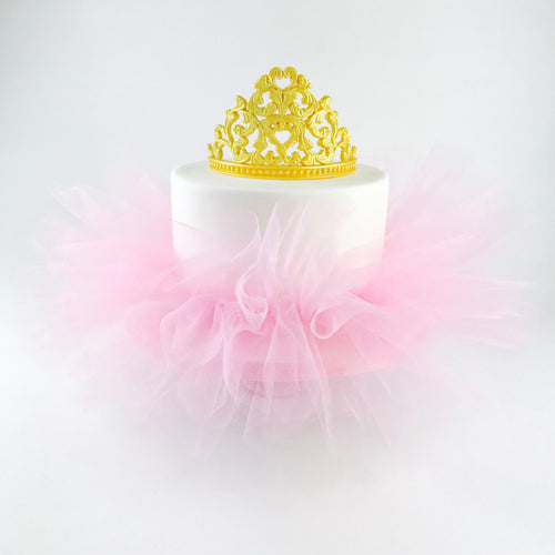 Princess Cake Tutu in Pink - Ships within 3 Business Days