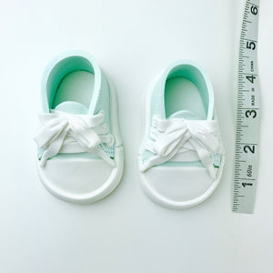 Teal Baby Sneakers Shoes sizes
