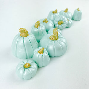 Teal pumpkin toppers