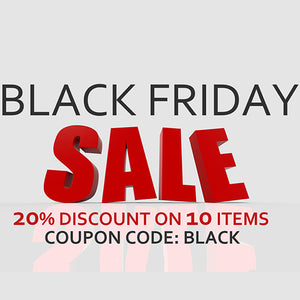 BLACK FRIDAY SALE - MEGA SALE