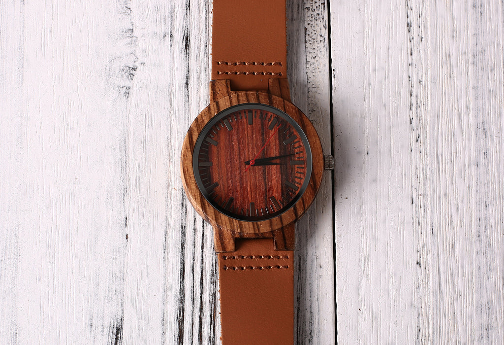 Groomsmen Gift Mens Engraved Wooden Watch Personalized Watch For Men Best Man Gift - urweddinggifts