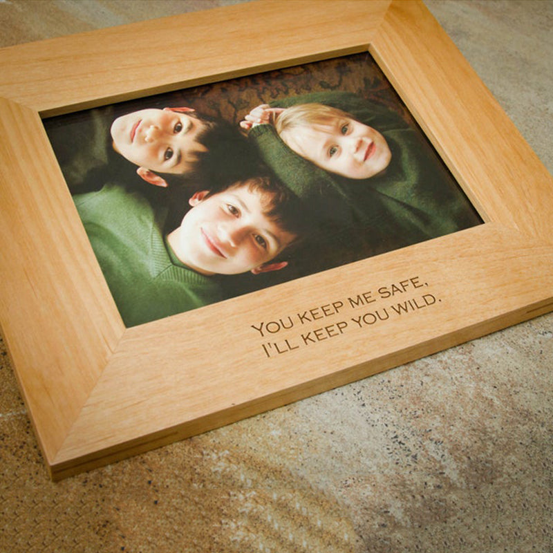 Bridesmaid Gift Personalized Gift Picture Frame Engraved Wood Frame Monogrammed Wedding Gift Custom Bridesmaid Gifts - urweddinggifts