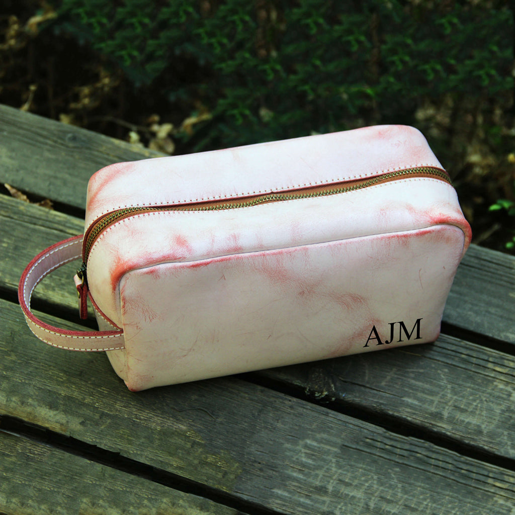 Bridesmaid Gifts Personalized Makeup Bag Bridesmaid Cosmetic Bag Monogram Dopp Kit Custom Toiletry Bag - urweddinggifts