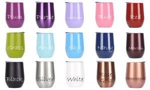 Bridesmaid Gifts Personalized Bachelorette Tumblers Bridesmaid Cups Stemless Wine Tumblers Bachelorette Party Favors Coffee Mug - urweddinggifts
