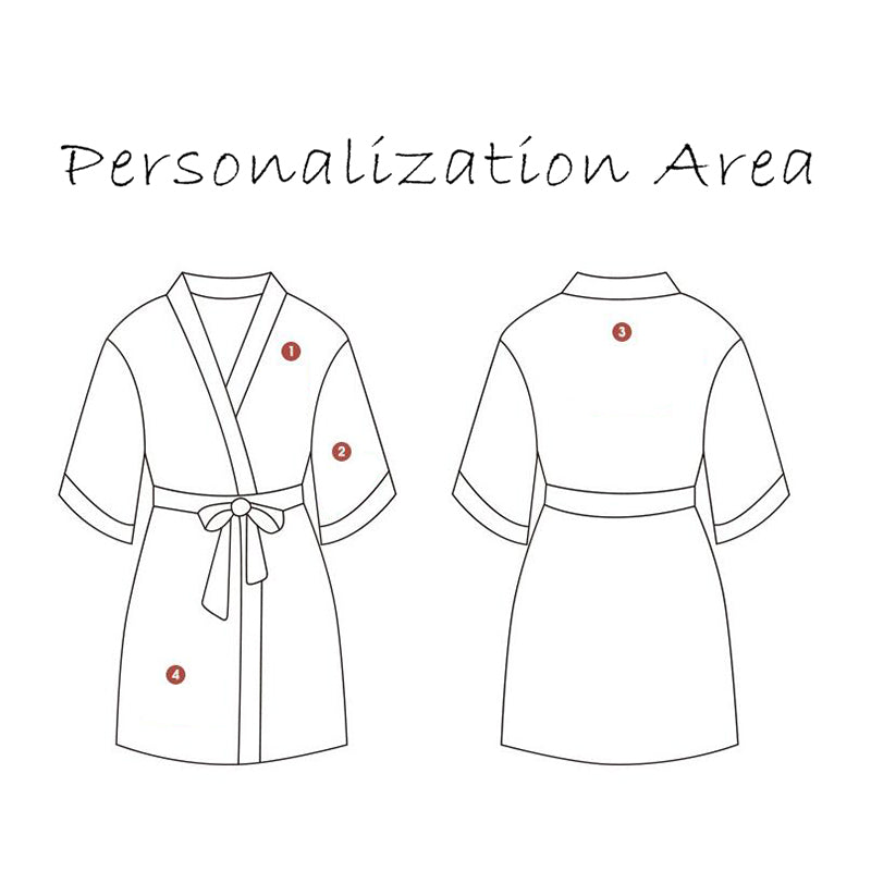 Bridesmaid Gifts Personalized Bridesmaid Robes Customized Velvet Robe Embroidered Bridal Party Robe - urweddinggifts