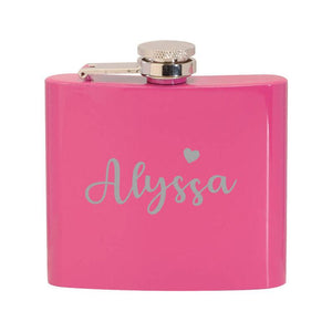 Bridesmaid Gifts Personalized Flask Engraved Flasks Custom Bridesmaids Flasks Monogrammed Flask - urweddinggifts