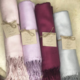 Bridesmaid Gifts Personalized Pashmina Scarf Shawl Bridesmaid Shawl Bridal Wrap Bridesmaid Scarf - urweddinggifts