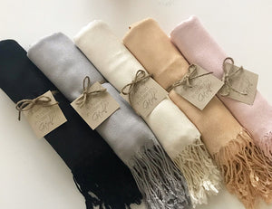 Bridesmaid Gifts Personalized Shawl Customized Scarves Bridal Shawl - urweddinggifts