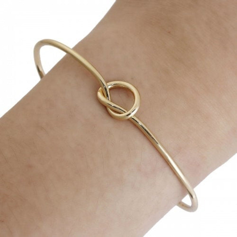 Bridesmaid Gifts Tie The Knot Bracelet Bridesmaid Knot Bracelet - urweddinggifts