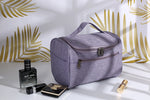 Bridesmaid Gifts Canvas Makeup Bag Cosmetic Bag Dopp Kit Makeup Case Toiletry Bags - urweddinggifts