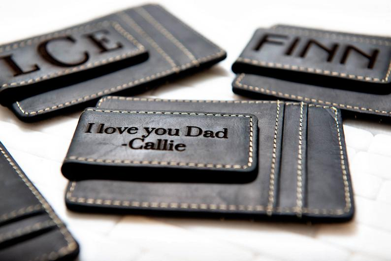 Personalized Money Clip - Custom Money Clip / Engraved Money Clip / Minimalist Gift / Wedding Gift / Groomsmen Gift / Money Clip for Men - urweddinggifts