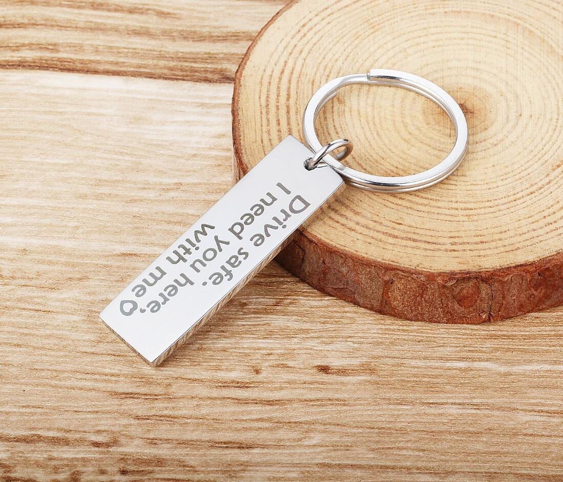 Personalized Laser Engraved Key Chains Laser Engraved Key Ring Best Man Groomsman Gifts