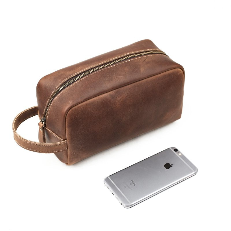 Groomsmen Gifts Leather Personalized Dopp Kit Monogram Toiletry Bag Customized Groomsman Gifts - urweddinggifts