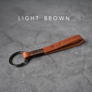 Groomsmen Gift Personalized Leather Key Chain Coordinates Key Ring Name Keyring Engraved Keychain Customized Groomsmen Gifts - urweddinggifts