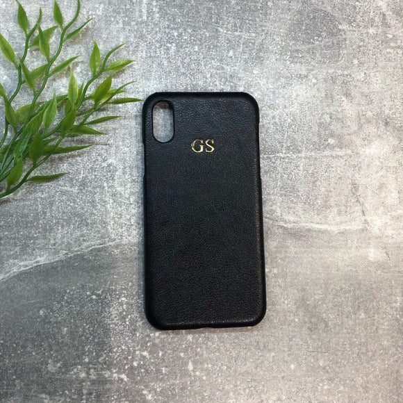 Groomsmen Gift iPhone Leather Case Personalised Groomsmen Gifts Initials Phone Case Custom Wedding Gift - urweddinggifts