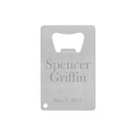 Groomsmen Gifts Credit Card Bottle Opener Personalized Bottle Opener Custom Card Bottle Opener Best Man Gift - urweddinggifts