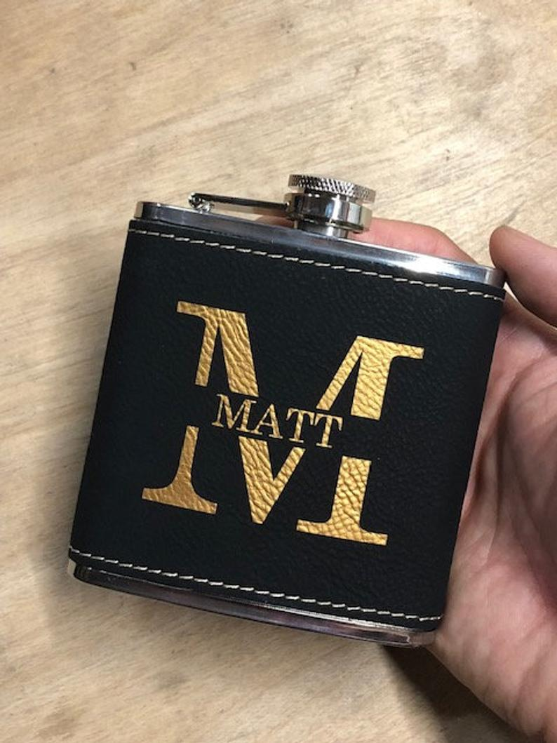 Groomsmen Gifts Custom Flasks For Groomsmen Personalized Groomsmen Flask Engraved Best Man Gifts - urweddinggifts