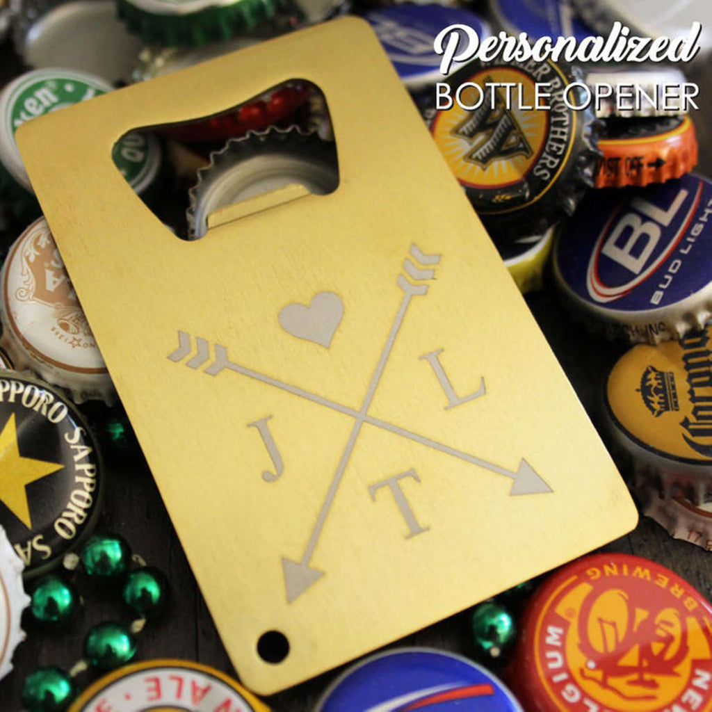 Groomsmen Gifts Engraved Credit Card Bottle Opener Personalized Card Bottle Opener Custom Groomsmen Bottle Opener - urweddinggifts