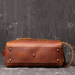Groomsmen Gifts Personalized Leather Dopp Kit Mens Leather Toiletry Bag Monogrammed Toiletry Bags - urweddinggifts