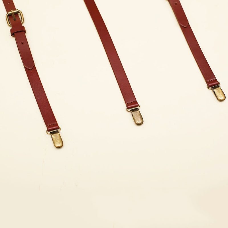 Groomsmen Gifts Personalized Wedding Suspenders Custom Groomsmen Suspenders Engraved Leather Suspenders - urweddinggifts