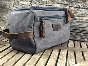 Father's Day Gift, Mens Toiletry Bag, Groomsman Gift, Toiletry Bag Birthday Gift, Fathers Day Gift For Stepdad