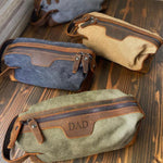 Personalized Groomsmen Gift, Dopp Kit Bag, Best Wedding Gift for Him, Mens Toiletry Bag, Birthday Gift for Him, Best Man Gift - urweddinggifts