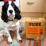 """THANK YOU PURE FOR MAKING ME AND MY DOG VERY HAPPY"""