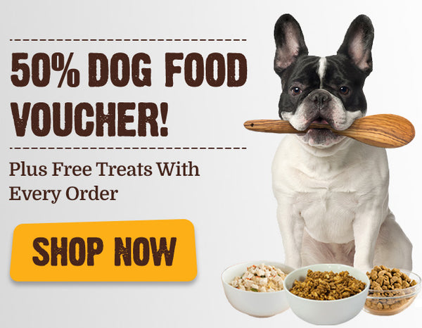 50% Dog Vouchers - Free Treats