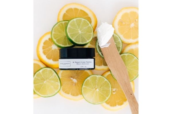 desert lime flawless micro exfoliant edible beauty