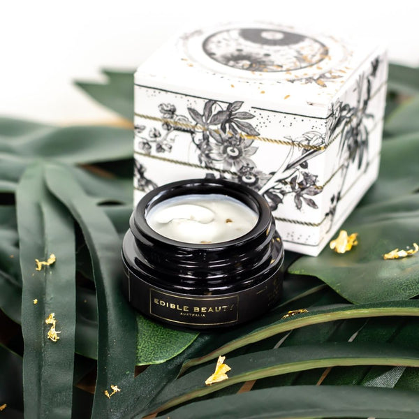 Gold Rush eye cream edible beauty