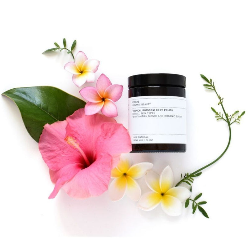 Exfoliant corporel Tropical Blossom EVOLVE BEAUTY