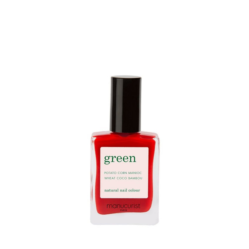 Poppy Red - Vernis Green