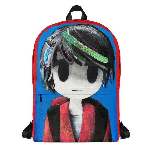 backpack school boy front