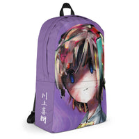 backpack purple aura left