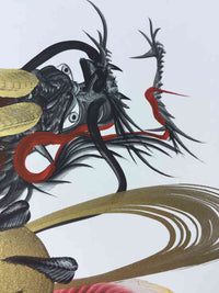 japanese dragon painting DRG W 0013 2