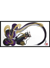 japanese dragon painting DRG W 0023 1
