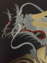 japanese dragon painting DRG W 0050 2