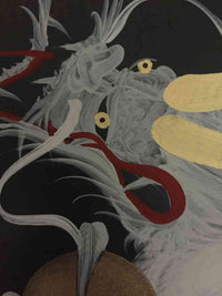 japanese dragon painting DRG W 0053 2