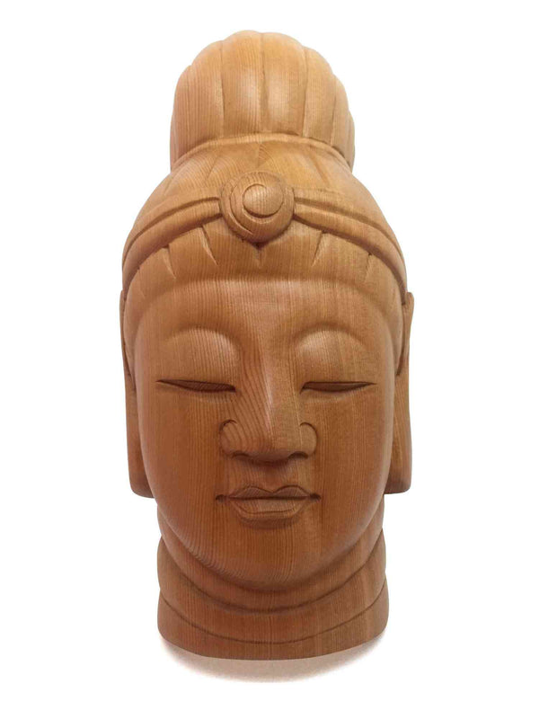 kannon wooden mask 1