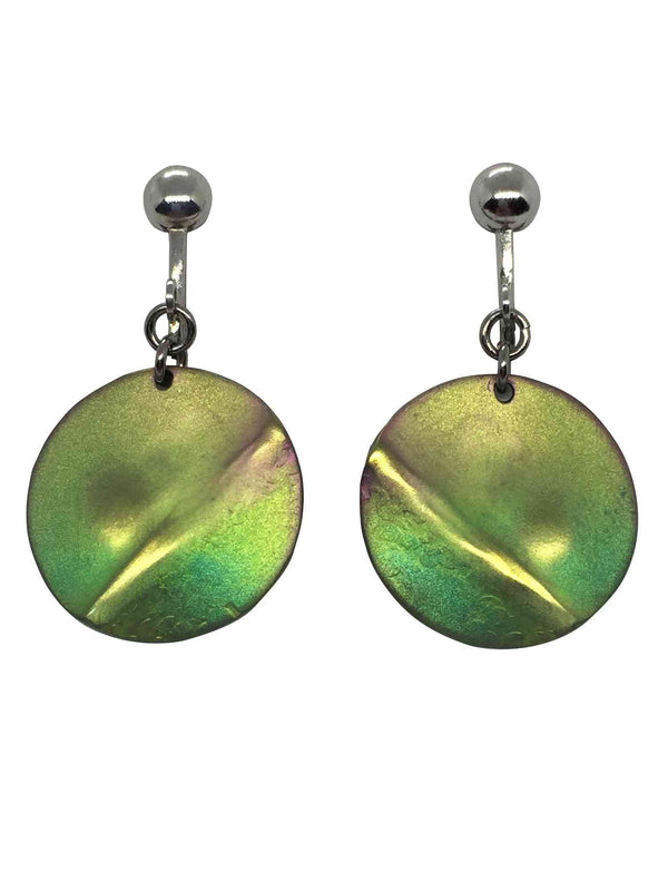 titanium earrings planet 1
