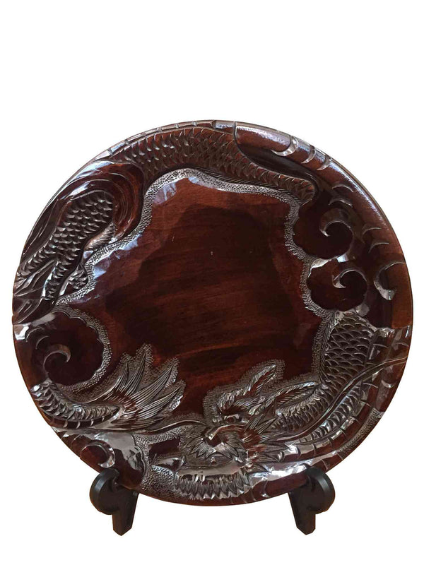 wooden tray dragon 004 2