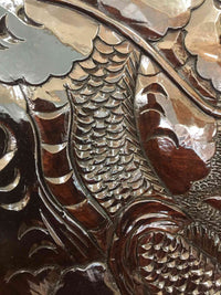 wooden tray dragon 007 4