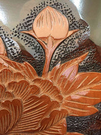 wooden tray flowers 006 5