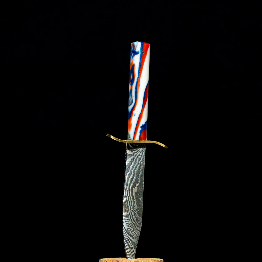 710 Sword/ Knife Dabbers - Red, White and Blue Sword